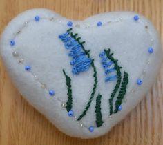 Bluebell Pincushion