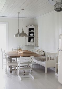 swedish country dining room