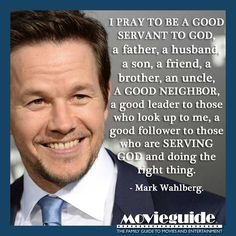 An inspiring prayer from Mark Wahlberg! Prayers and how to pray Faith Quotes, Bible Quotes, Bible Verses, Christian Actors, Christian Quotes, Spiritual Quotes, Positive Quotes, Spiritual Guidance, Great Quotes