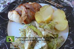Pommes de terre cuites au barbecue