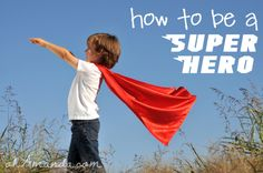 How To Be a Super Hero {Series} - These activities will guide you and your children through exploring how to have SUPER speech, FANTASTIC conduct, to have INCREDIBLE love, LIGHTNING FAST faith and MAGNIFICENT purity.