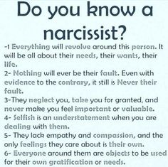 I think that I am a narcissist I do everything that seid there Traits Of A Narcissist, Narcissist Quotes, Narcissistic Personality Disorder, What Is A Narcissist, Sociopath Traits, Living With A Narcissist, Dating A Narcissist, Narcissistic People, Narcissistic Behavior