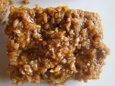 Sweet & Savory: Soft and Chewy Granola Bars