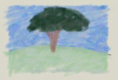 Flor has done an impressionistic drawing of the majestic Lumiacraft's tree! Made by the player: LeutnantFlavian Impressionist, Drawings, Painting, Image, Art, Art Background, Painting Art, Kunst, Impressionism