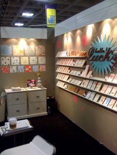 Trade Show Booth Light Fixtures & Sign for Hello!Lucky Craft Faire