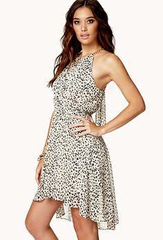 Cheetah Print Chain Strap Dress | FOREVER21 - 2000045078