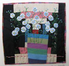 Doublure et brodé Collage Textile main