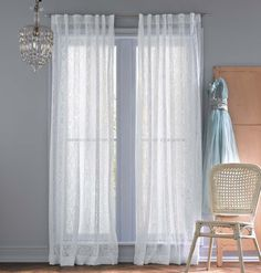 Simply Shabby Chic Lace Window Panel 2249 At Target