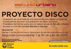 Proyecto Disco y Dale Rec Convocatorias de Estudio Urbano - Profesiones ON-LINE