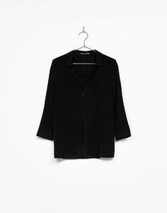 V-neck blouse. £15.99