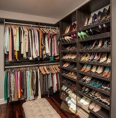 43 Organized Closet Ideas - Dream Closets_39