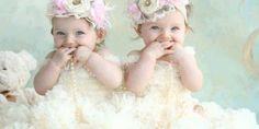 I want twin girls sooooo bad Twin Baby Girls, Twin Mom, Twin Babies, My Baby Girl, Cute Babies, Little Girls, Baby Kids, Love Twins, How To Have Twins