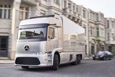 ¿Cómo serán los camiones del futuro?, según Mercedes-Benz - 20minutos.es