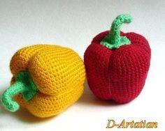 Domain Default page Crochet Fruit, Crochet Food, Crochet Kitchen, Crochet For Kids, Crochet Crafts, Yarn Crafts, Crochet Flowers, Crochet Baby, Crochet Projects