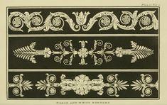 EKDuncan - My Fanciful Muse: Regency Era Decorative Patterns 1816 - 1822 from Ackermann's Repository