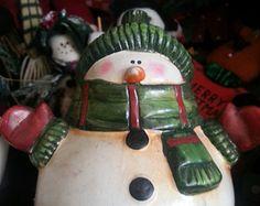 Sneeuwpop. Tussen kerst en kitsch