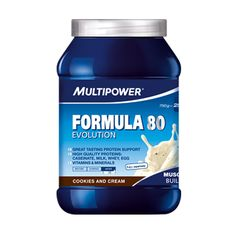MultiPower Formula 80 Evolution 750g Cookies & Cream
