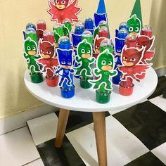 Boy Birthday Parties, 4th Birthday, Pjmask Party, Festa Pj Masks, Birthday Decorations, Party Themes, Ideas Aniversario, Birthday Snacks, Avengers Birthday Parties