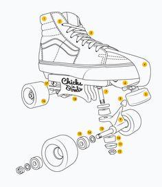 Aggressive Quad Skate Set-Up   Chicks in Bowls