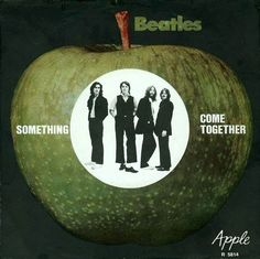 """This Day in Music Oct George Harrison's song 'Something' was released as the """"A"""" side of a Beatles' a first for Harrison. Along with Lennon and McCartney's Come Together, the single went on reach on the US chart Beatles Album Covers, Beatles Albums, Beatles Art, The Beatles, Beatles Photos, George Harrison Songs, Liverpool, Beatles Singles, Football Music"""