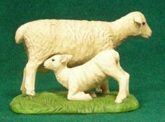 Momma and baby sheep by Blossom Bucket at the Cottage Gift Shop - Elmira, NY