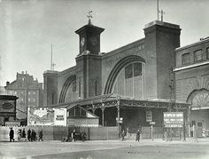 Description: Exterior view of King's Cross station, taken in 1926 Date of Execution: Medium: Photograph Collection: LCC Photograph Collection Reference No: Find out more about King's Cross Station on our online catalogue. London Pictures, London Photos, Old Pictures, Old Photos, Vintage London, Old London, The Last Summer, London History, Camden Town