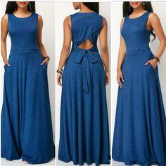 Plus Size Maxi Dresses, Simple Dresses, Pretty Dresses, Girls Fashion Clothes, Fashion Outfits, Clothes For Women, Dressy Casual Outfits, Casual Dresses, African Fashion Dresses