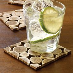 Branch Coasters (Set of 4) by Design Ideas