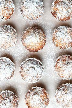 christmas stollen muffins /