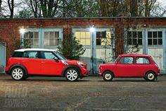 MINI Countryman Motoring: MINI vs MINI (MINI Countryman vs Morris Mini Minor, to be precise)
