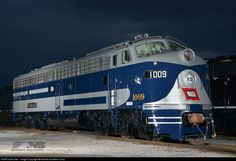 RailPictures.Net Photo: 1009 Wabash EMD E8(A) at Chattanooga, Tennessee by Norfolk Southern Corp