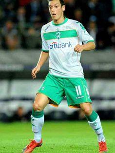 Mesut Ozil of Werder Bremen in 2009.