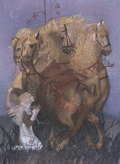 Dark Fairy Tales, illustration by Nadezhda Illarionova - ego-alterego.com