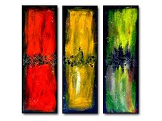 Geni019 36x36 Original Abstract Painting by Geni by genistudio, $89.99