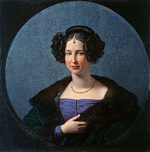 Luise von Anhalt-Bernburg, Friedrich Wilhelm Schadow, 1843