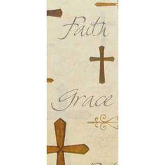 Brown & Tan Crosses Gift Tissue