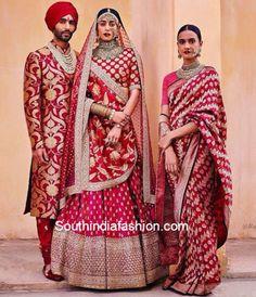 Top 18 Bridal Designers in India - Best Wedding Dresses Indian Bridal Outfits, Indian Bridal Wear, Indian Dresses, Indian Wear, Asian Bridal, Indian Style, Saris, India Fashion, Look Fashion
