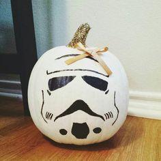 Starwars Stormtrooper pumpkin