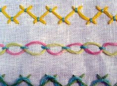Picture stitch dictionary for embroidery -- Sarah's Hand Embroidery Tutorials