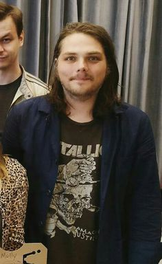 Gee Way April 2017<< aaah metallica shirt, he hasn't even changed (: