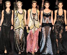 Roberto Cavalli 2012, ummmmmmy!!!! I want all of them, especially the one on the far right!!!!!!!!!