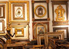 Padrevecchi frames, production and craftsmanship of historical and modern frames