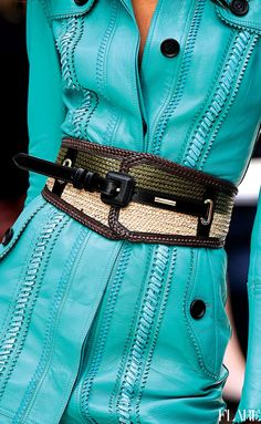 turquoise by Burberry Beautiful Womens Fashion Turquoise Fashion, Shades Of Turquoise, Turquoise Cottage, Azul Tiffany, Tiffany Blue, Fashion Details, Love Fashion, Womens Fashion, Classy Outfits