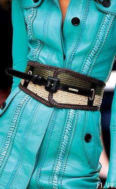 turquoise by Burberry Beautiful Womens Fashion Turquoise Fashion, Shades Of Turquoise, Turquoise Cottage, Azul Tiffany, Tiffany Blue, Fashion Details, Love Fashion, Womens Fashion, Classy Outfits