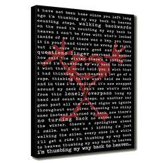 Pearl jam album artwork with lyrics on canvas easy craft