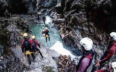 #Canyoning in #Kössen, #Tirol © Katharina Kamleitner/watchmesee.com Kos, Darth Vader, Travel, Fictional Characters, Essen, Road Trip Destinations, Travel Advice, Viajes, Destinations