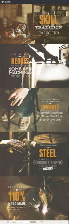 Knuckles Industries -- visual, gritty, vintage, metal, shop, work, filter