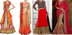 Bridal Lehenga Designs for Weddings and Parties - Latest Collection 2015-2016