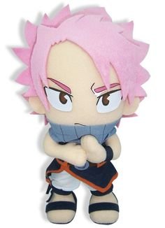 Natsu Fairy Tail Plush. This is sooooo cute. I want it