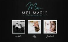 Web Design Case Study: Mel Marie Photography